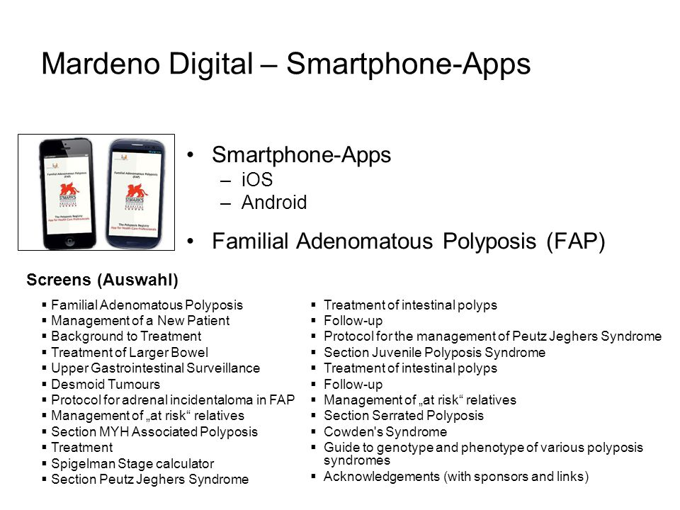 Mardeno Digital – Smartphone-Apps