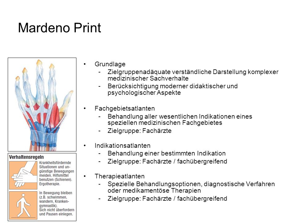 Mardeno Print Grundlage