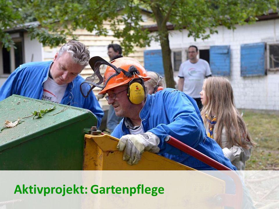 Aktivprojekt: Gartenpflege