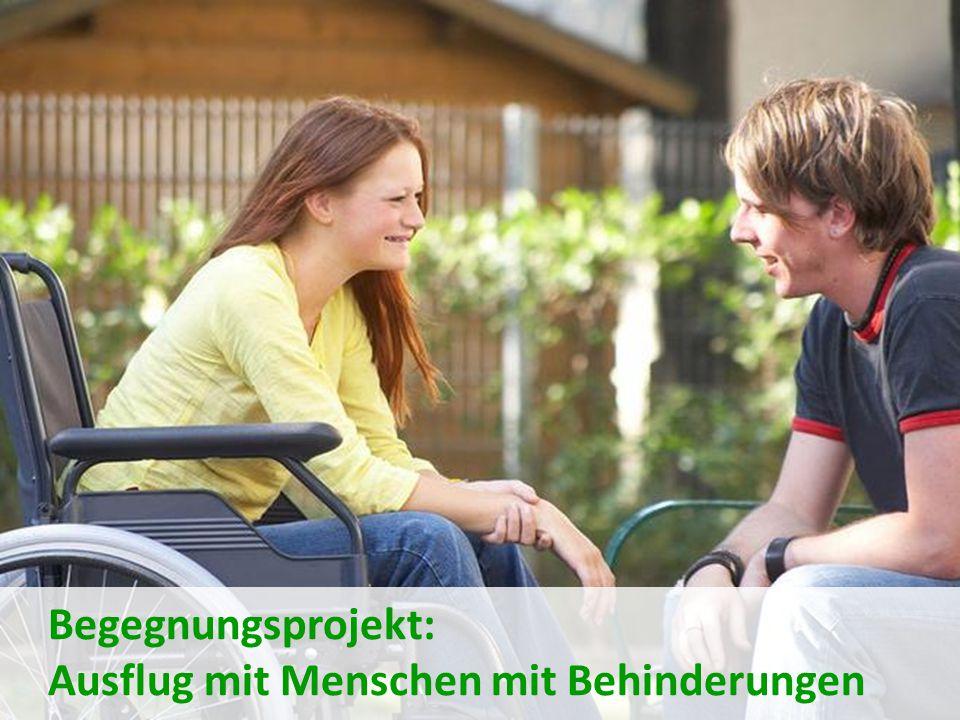 Ausflug mit Menschen mit Behinderungen