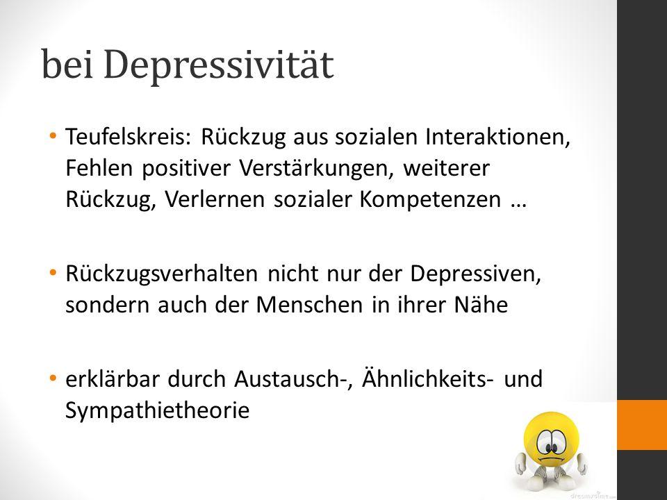 bei Depressivität