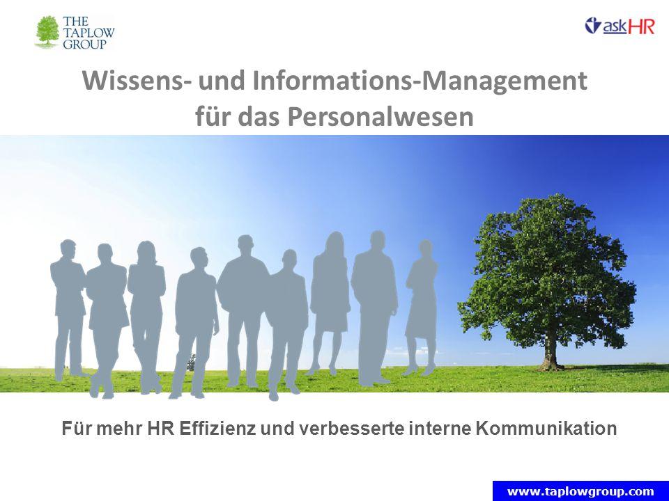 Wissens- und Informations-Management für das Personalwesen