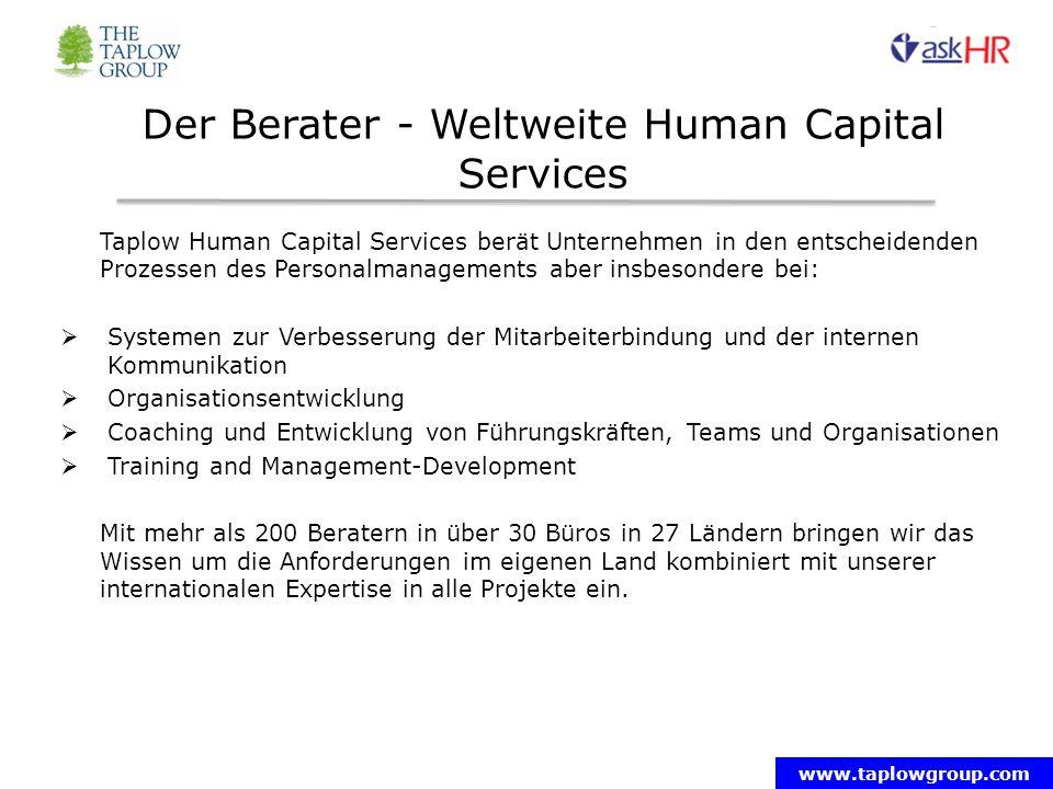 Der Berater - Weltweite Human Capital Services