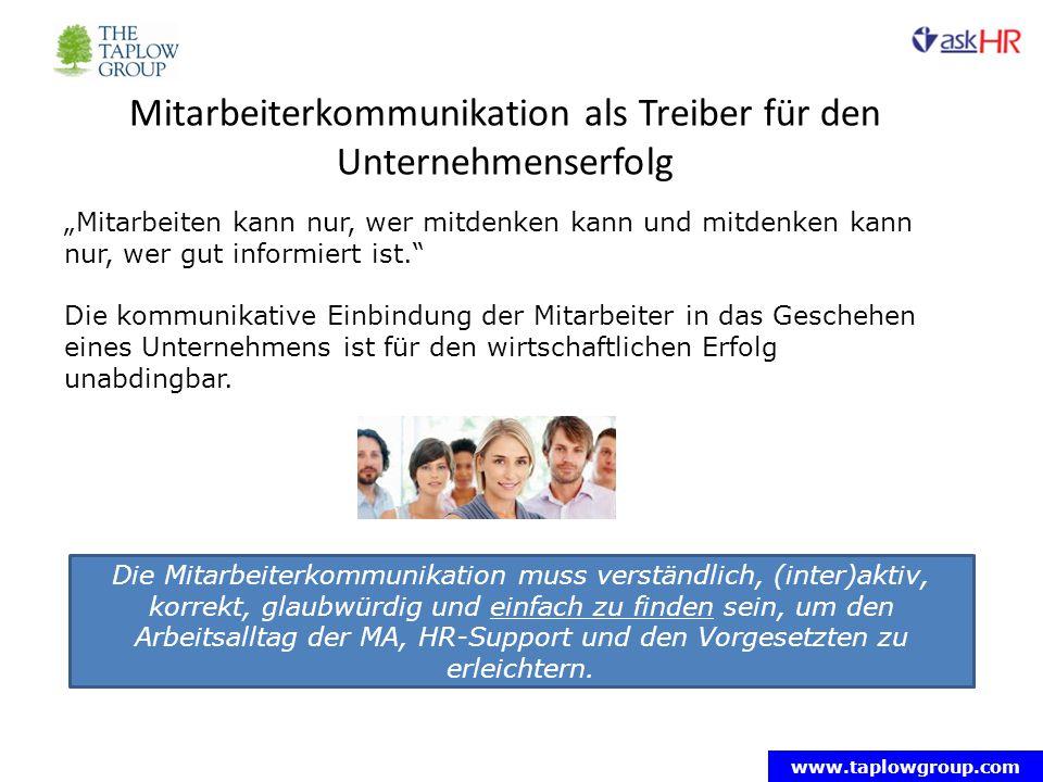 Mitarbeiterkommunikation als Treiber für den Unternehmenserfolg