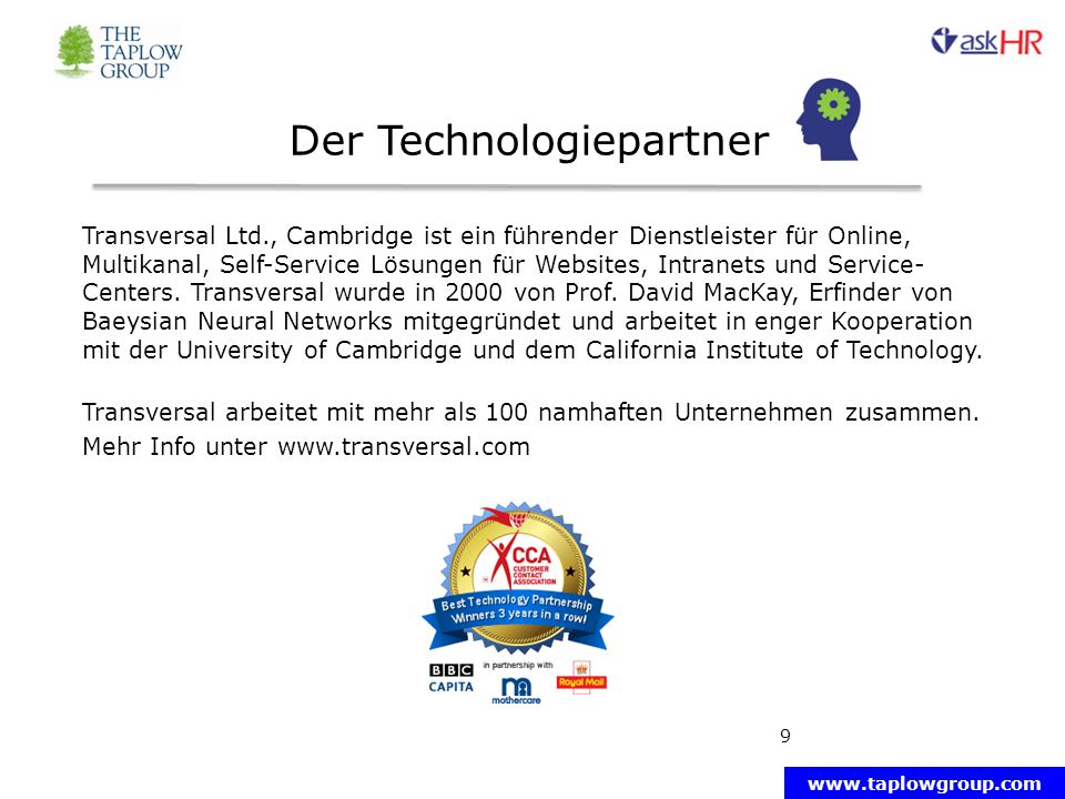 Der Technologiepartner