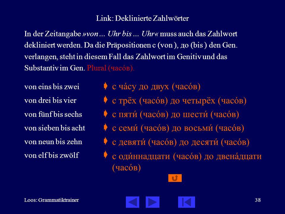 Link: Deklinierte Zahlwörter