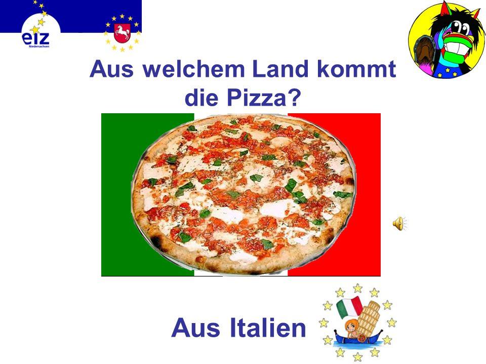 Aus welchem Land kommt die Pizza