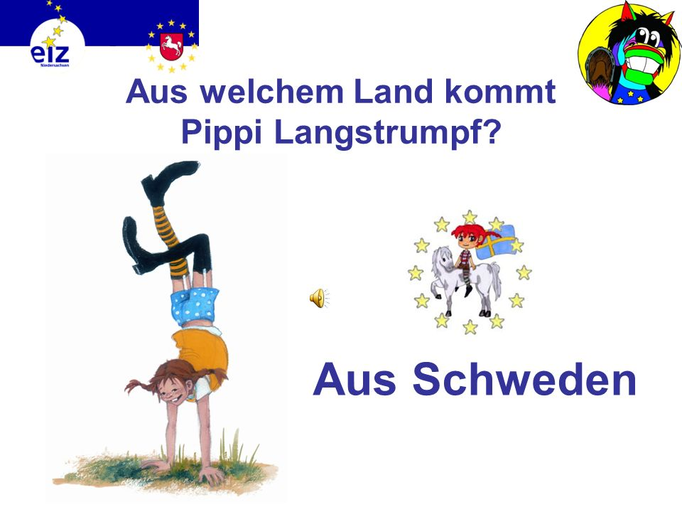 Aus welchem Land kommt Pippi Langstrumpf
