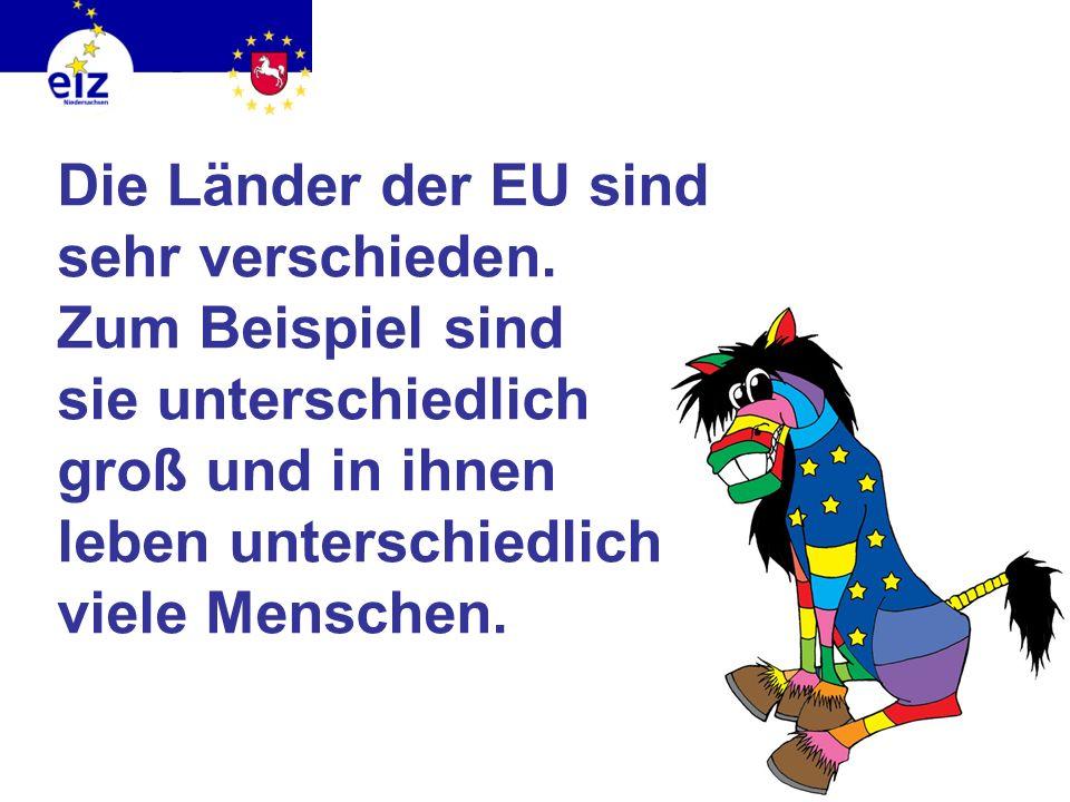 Die Länder der EU sind sehr verschieden