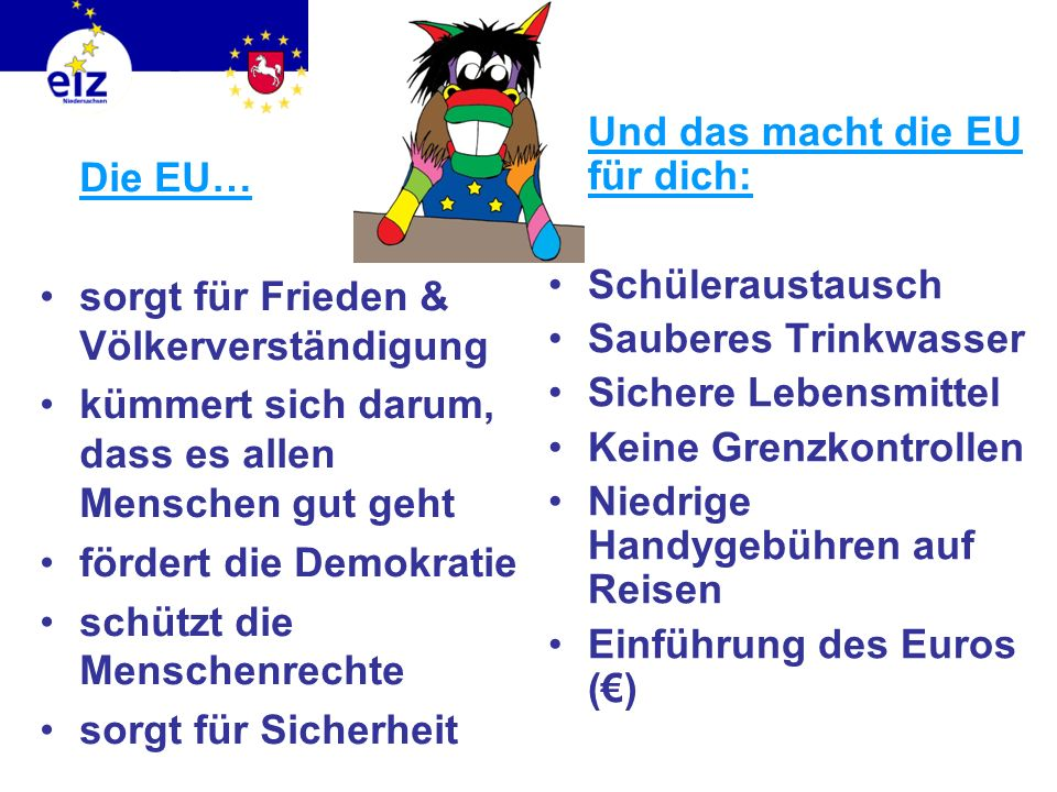 Und das macht die EU für dich: