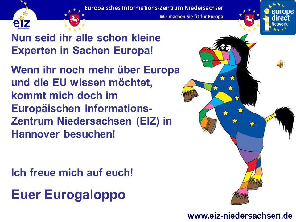 Nun seid ihr alle schon kleine Experten in Sachen Europa!