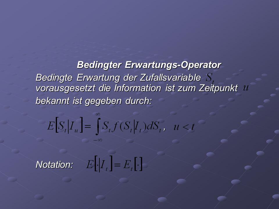 Bedingter Erwartungs-Operator
