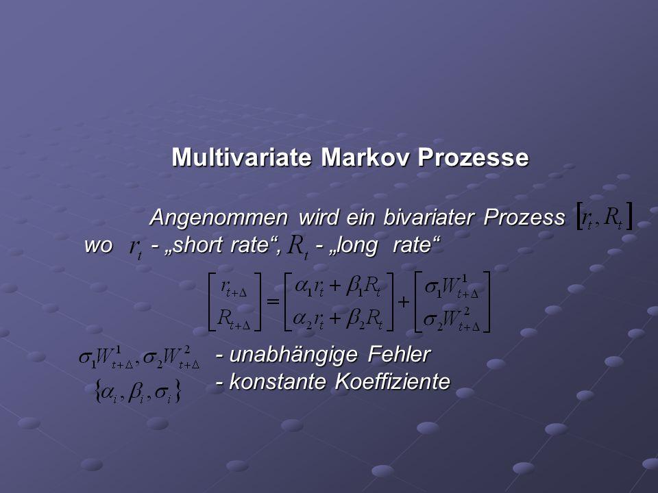 Multivariate Markov Prozesse
