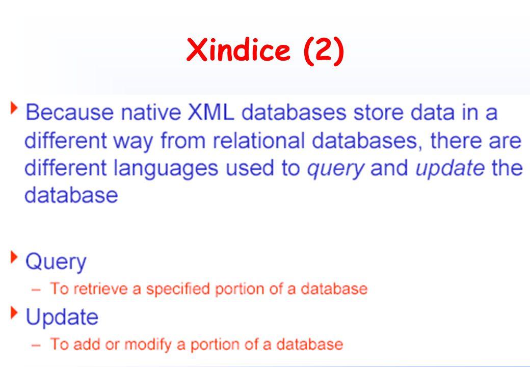Xindice (2)