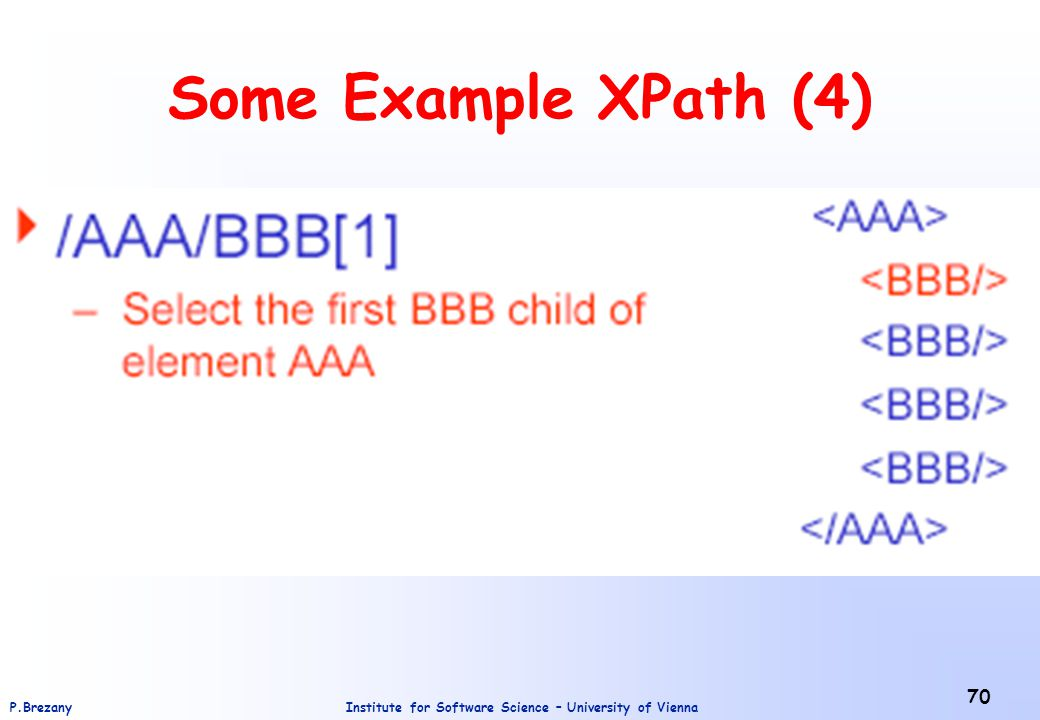 Some Example XPath (4)