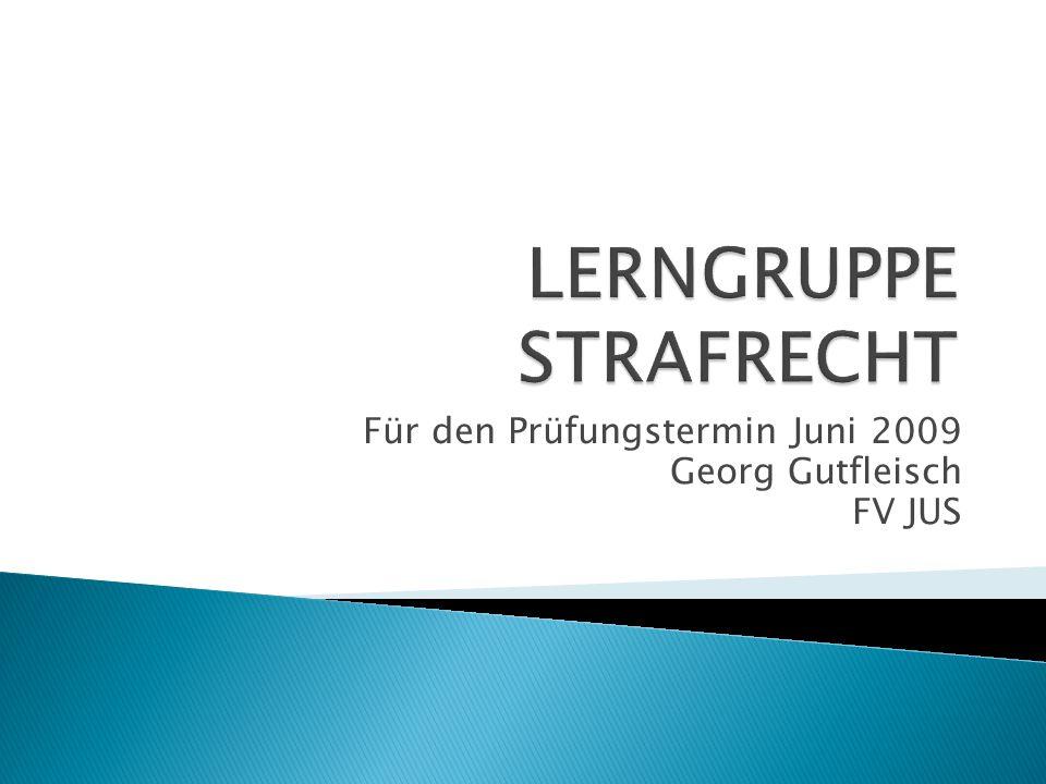 LERNGRUPPE STRAFRECHT