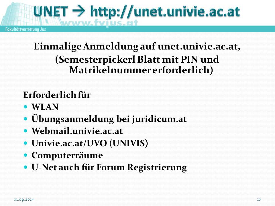 UNET  http://unet.univie.ac.at