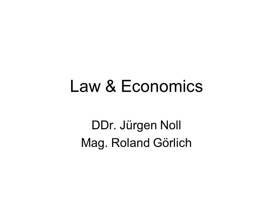 DDr. Jürgen Noll Mag. Roland Görlich