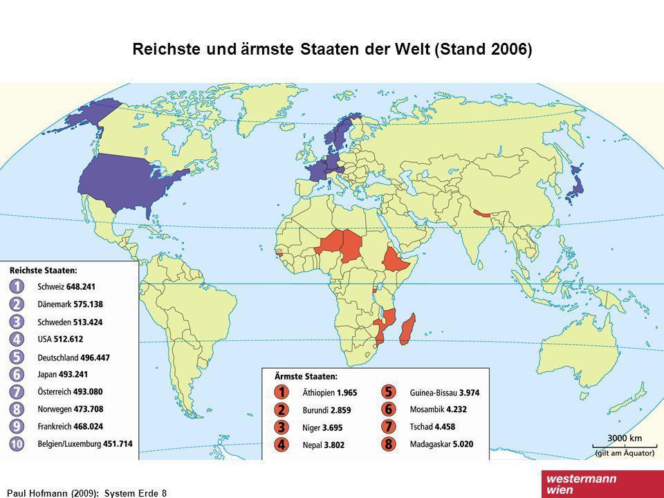 Reichste und ärmste Staaten der Welt (Stand 2006)
