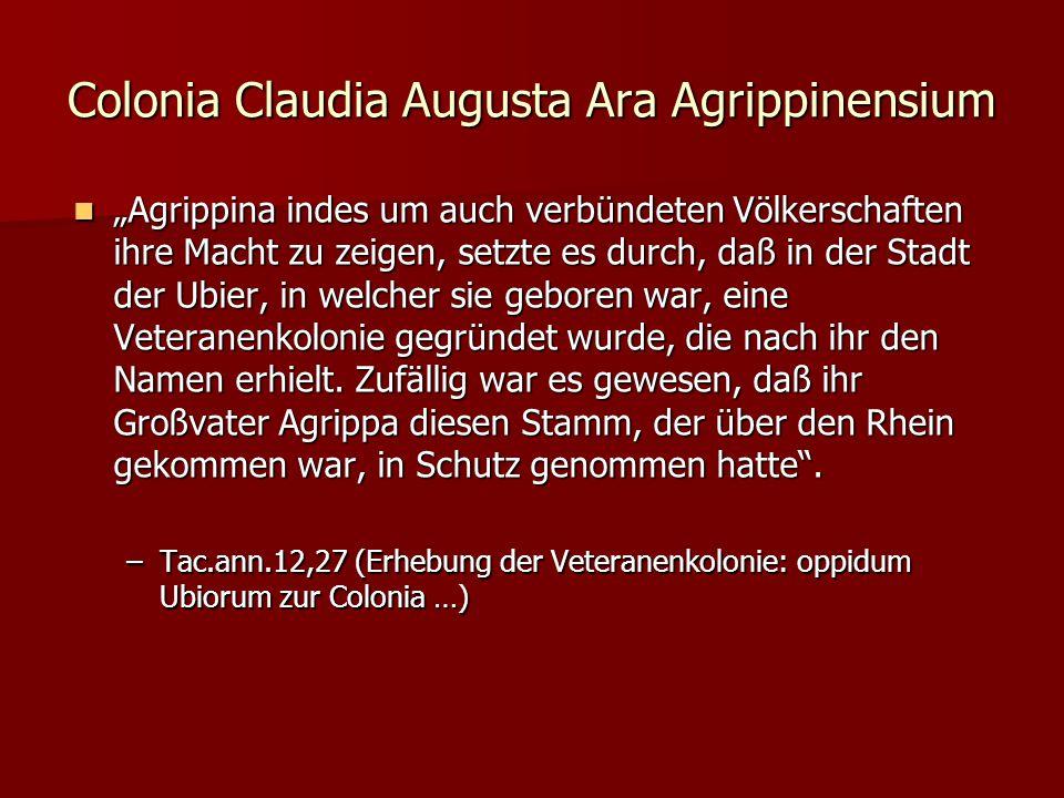 Colonia Claudia Augusta Ara Agrippinensium