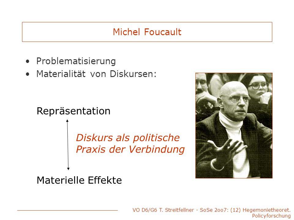 Diskurs als politische Praxis der Verbindung