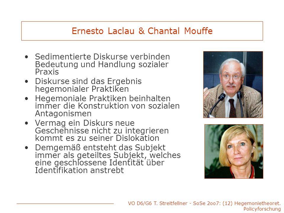 Ernesto Laclau & Chantal Mouffe