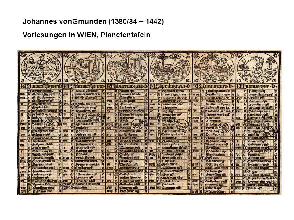 Johannes vonGmunden (1380/84 – 1442)