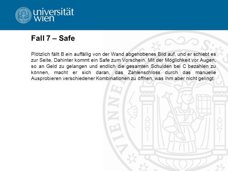 Fall 7 – Safe