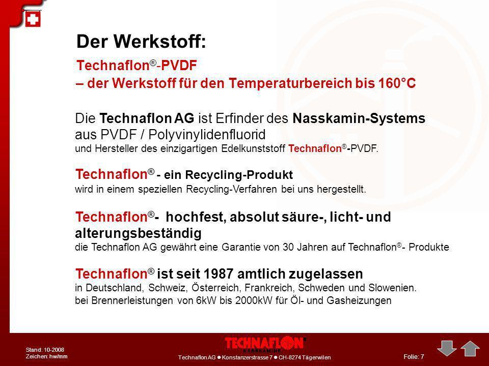 Der Werkstoff: Technaflon®-PVDF
