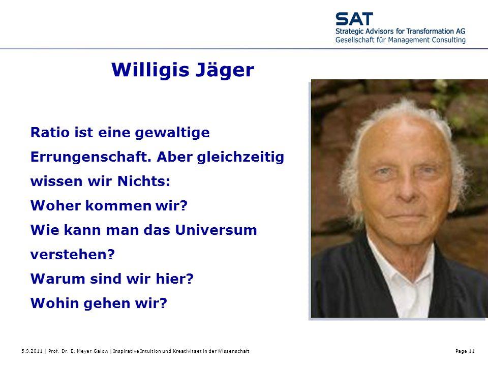 Willigis Jäger Ratio ist eine gewaltige Errungenschaft. Aber gleichzeitig wissen wir Nichts: Woher kommen wir