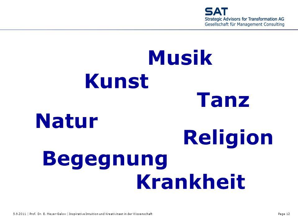 Musik Kunst Tanz Natur Religion Begegnung Krankheit
