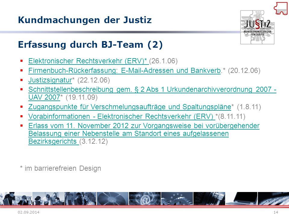 Erfassung durch BJ-Team (2)