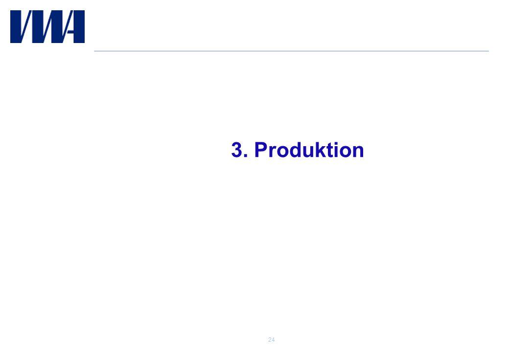3. Produktion