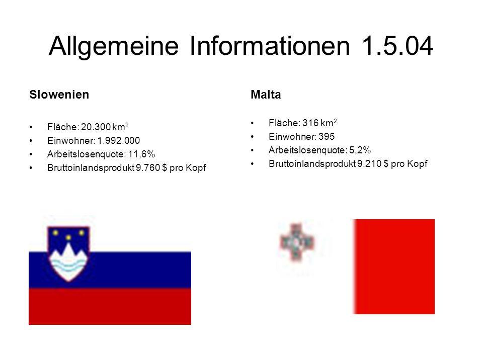 Allgemeine Informationen 1.5.04