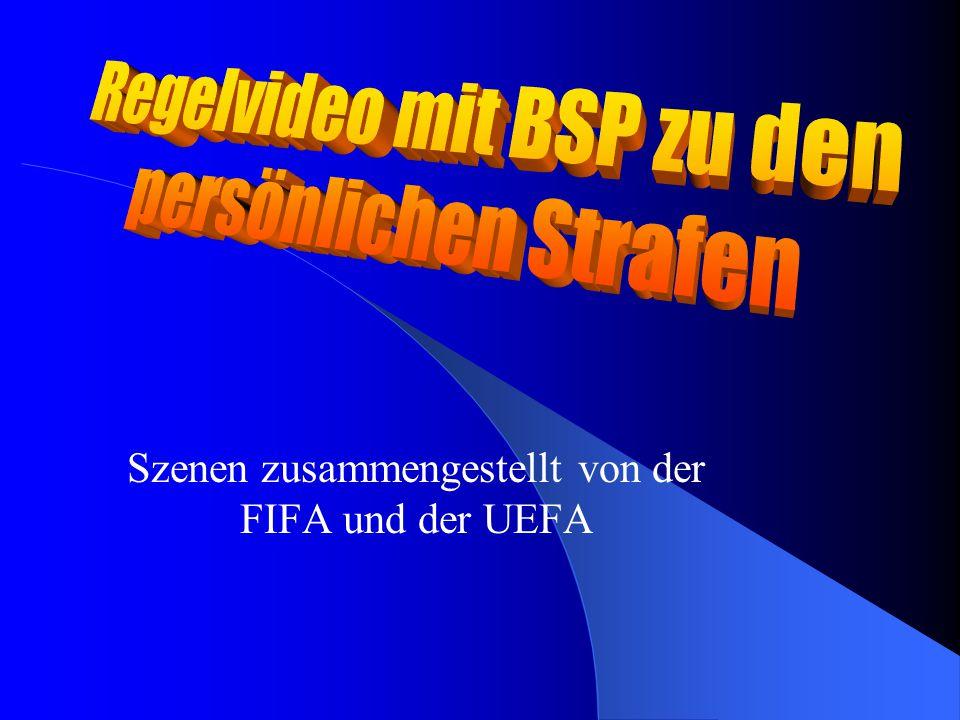 Szenen zusammengestellt von der FIFA und der UEFA