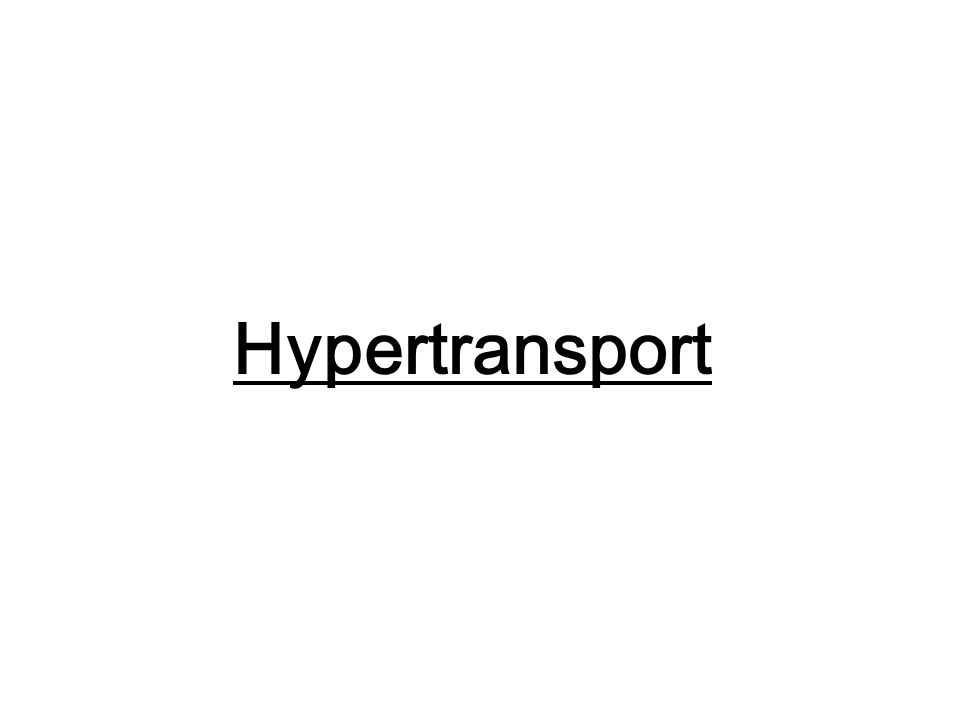 Hypertransport