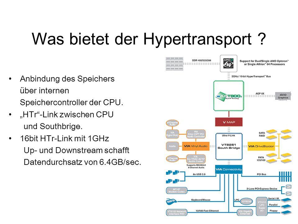 Was bietet der Hypertransport