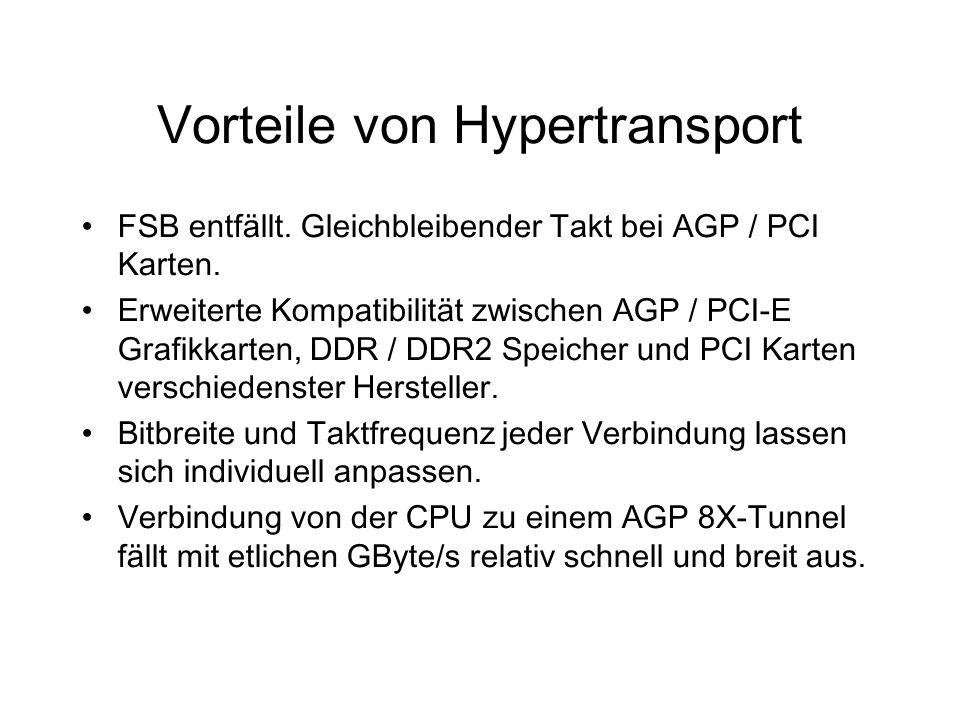 Vorteile von Hypertransport