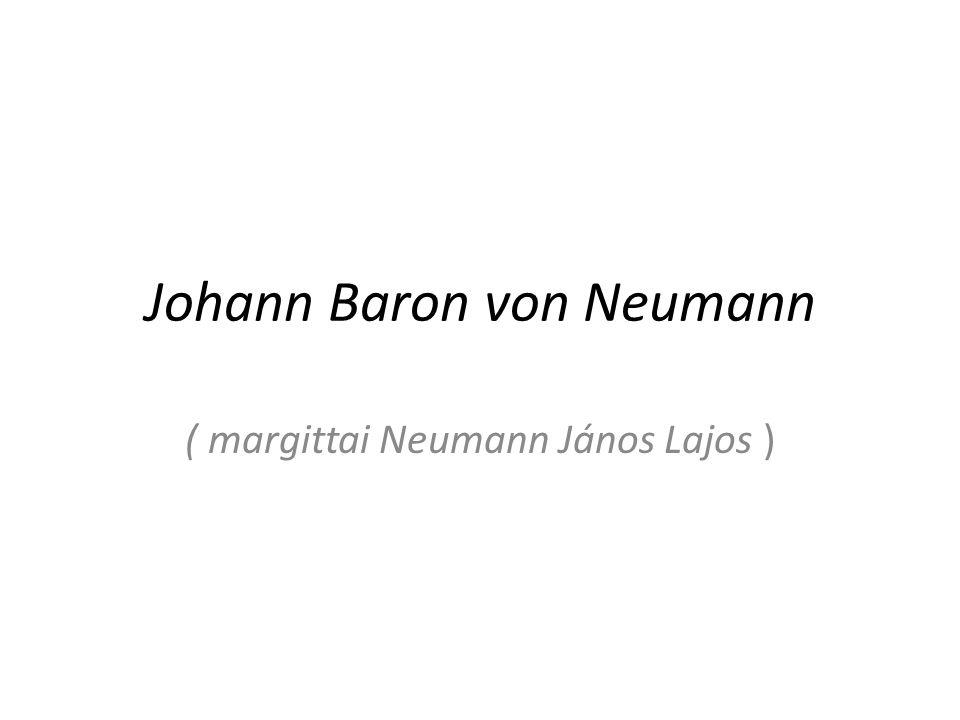 Johann Baron von Neumann
