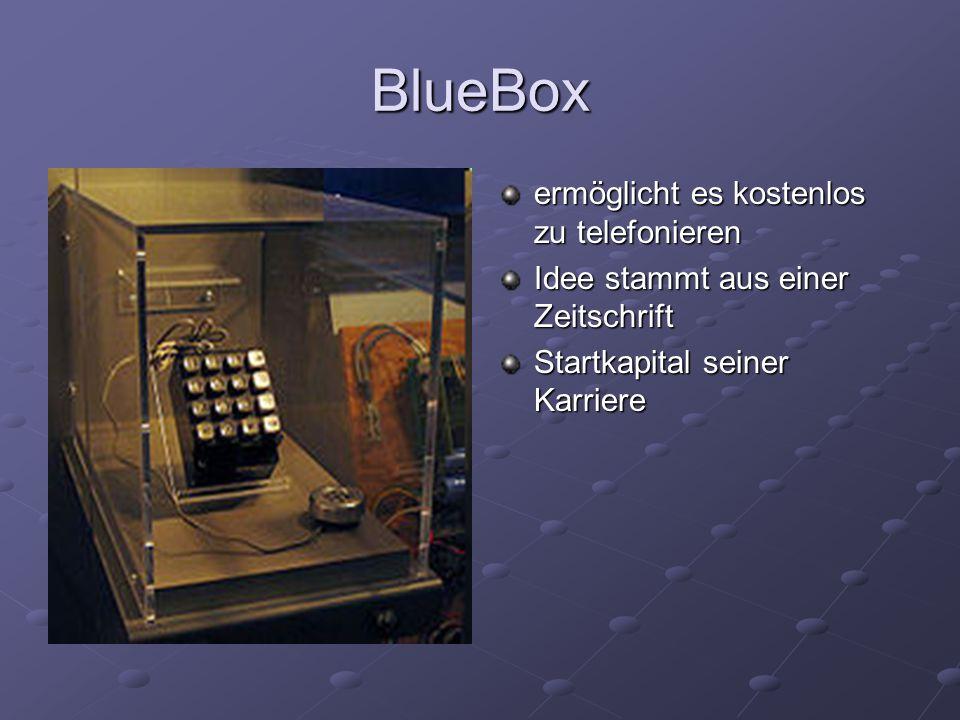 BlueBox ermöglicht es kostenlos zu telefonieren