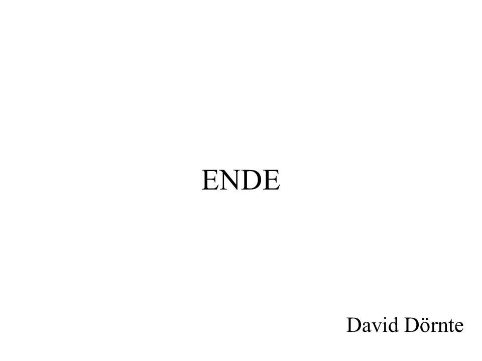 ENDE David Dörnte