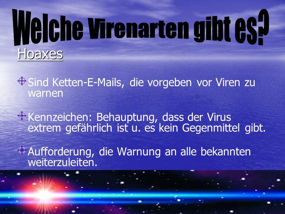 Welche Virenarten gibt es