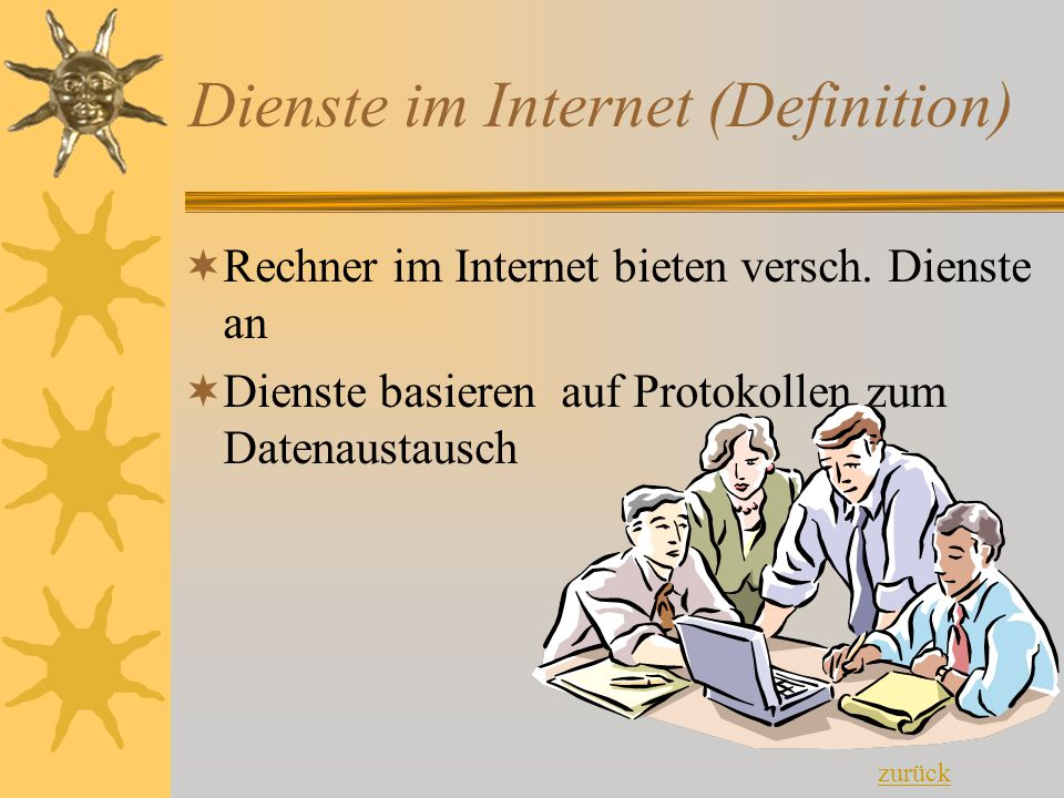 Dienste im Internet (Definition)