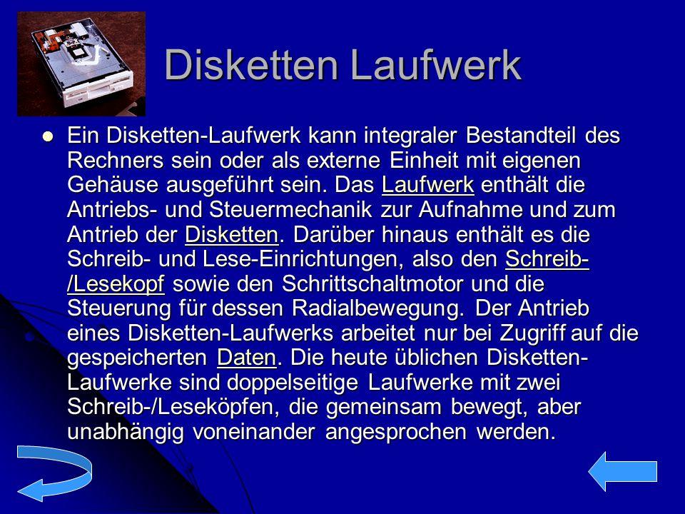 Disketten Laufwerk