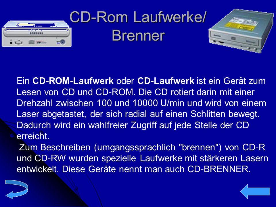 CD-Rom Laufwerke/ Brenner