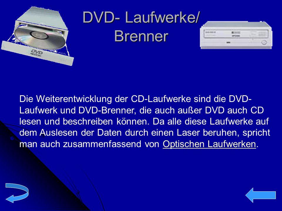 DVD- Laufwerke/ Brenner