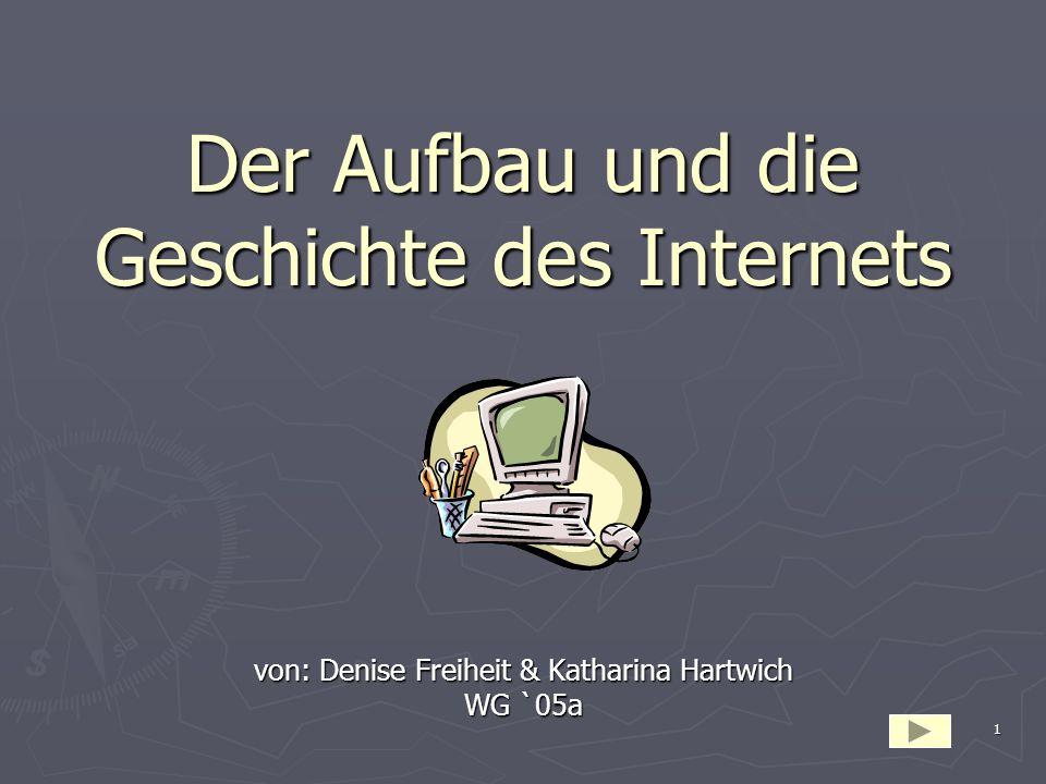 Der Aufbau und die Geschichte des Internets
