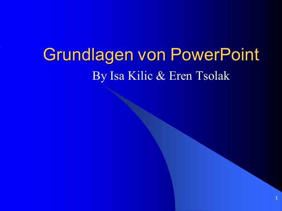 Grundlagen von PowerPoint