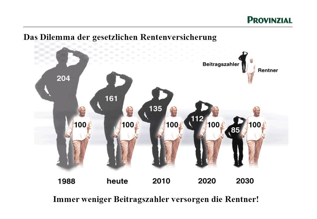 Das Dilemma der gesetzlichen Rentenversicherung