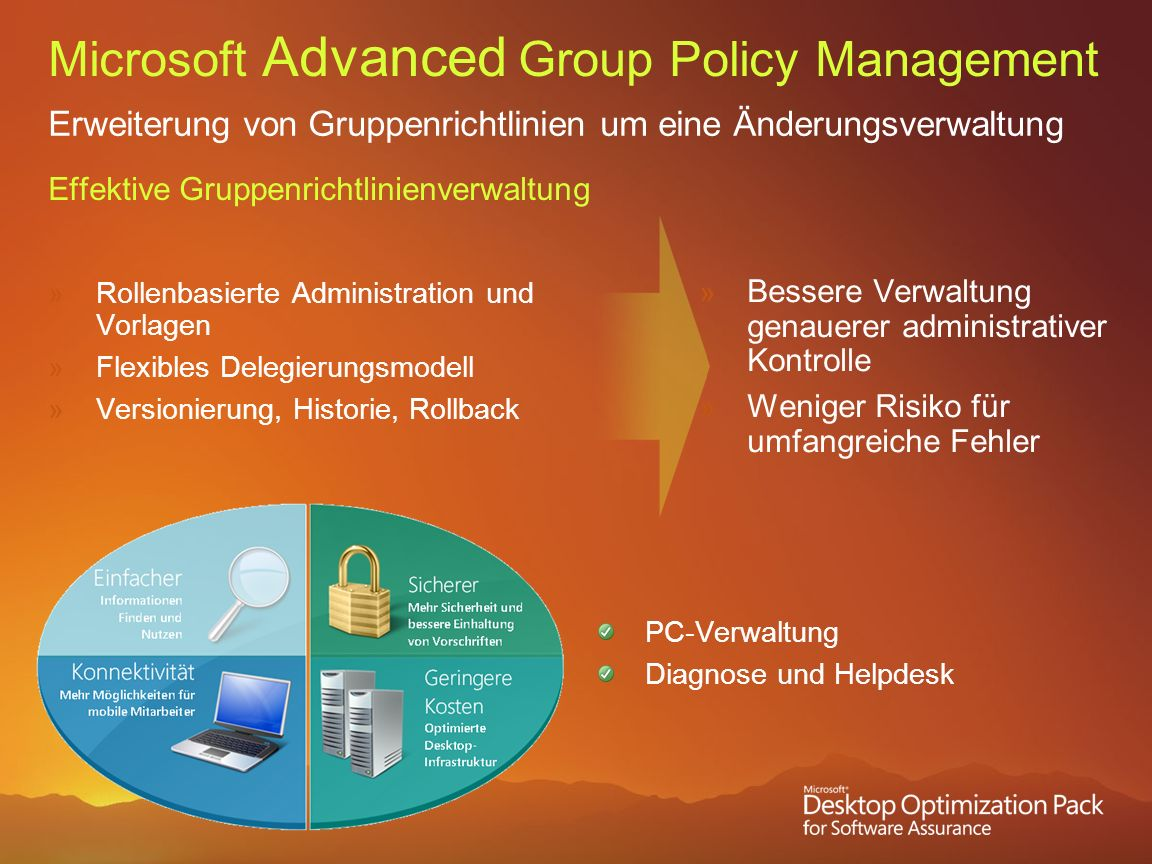 Microsoft Advanced Group Policy Management